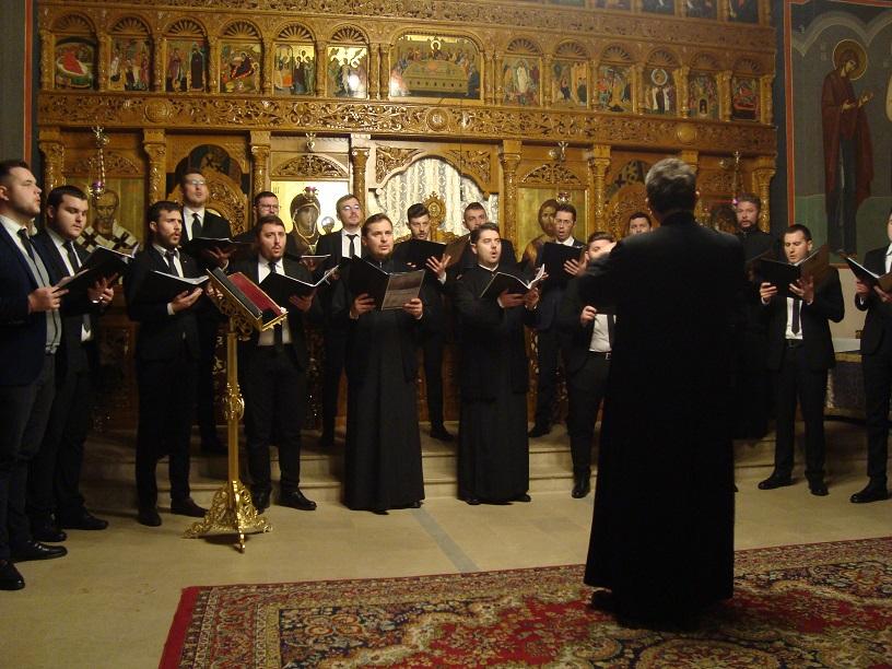 """Corul """"Psalmodia Transylvanica"""" a concertat în Parohia """"Adormirea Maicii Domnului"""" din Cluj-Napoca"""