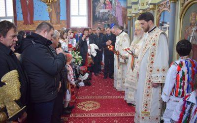 Resfințirea Bisericii din localitatea Sâniacob, Protopopiatul Beclean