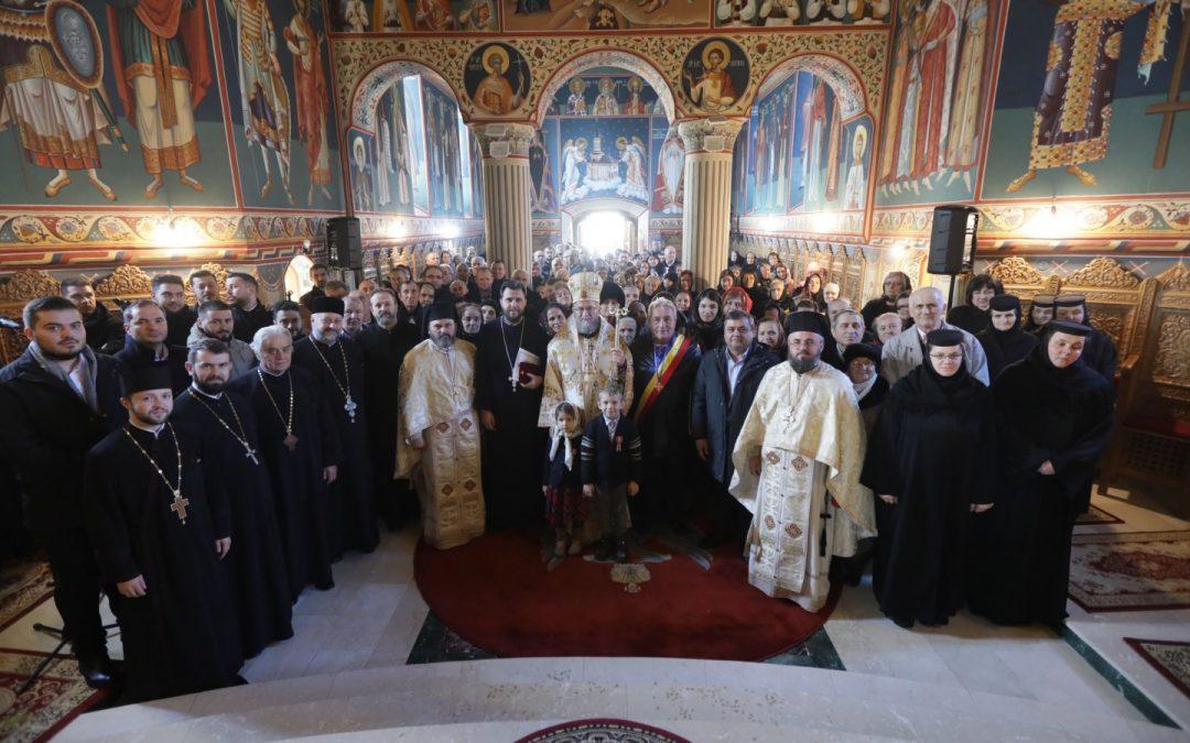 Hramul paraclisului de iarnă al Mănăstirii Rohia