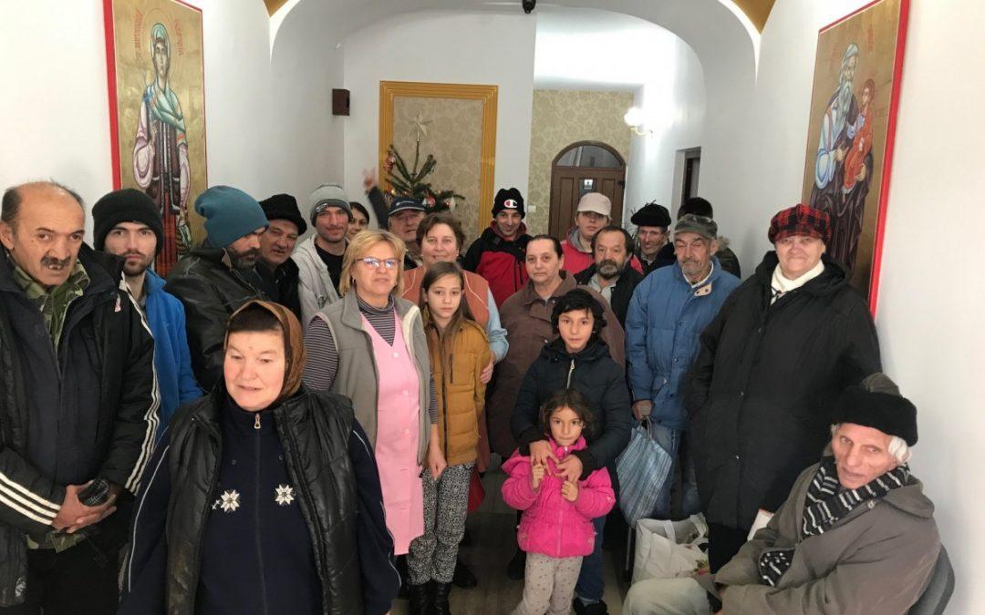 Sute de familii nevoiașe din Bistrița, în atenția Bisericii, în prag de sărbători