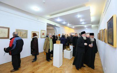 Lucrări de artă – colecția pr. Ioan Bizău, expuse la MET, în prezența IPS Andrei