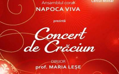 Colinde și cântece de Crăciun din repertoriul românesc și internațional, prezentate la Cercul Militar