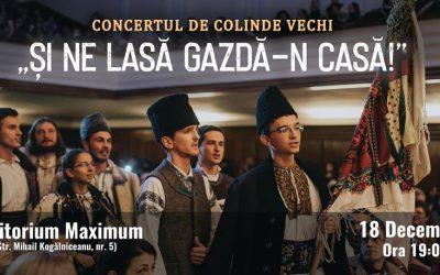 Concert de colinde vechi, organizat de Liga Studenților clujeni