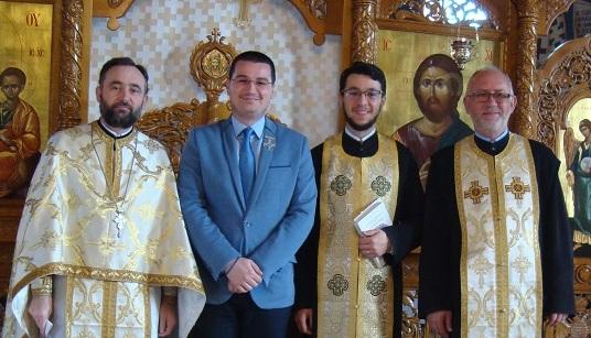 """Sfânta Liturghie și prezentare de carte, în Parohia """"Adormirea Maicii Domnului"""" din Cluj-Napoca"""
