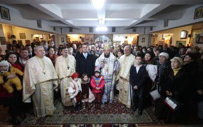 """Liturghie arhierească la biserica """"Sfântul Vasile cel Mare"""", Baia Mare"""