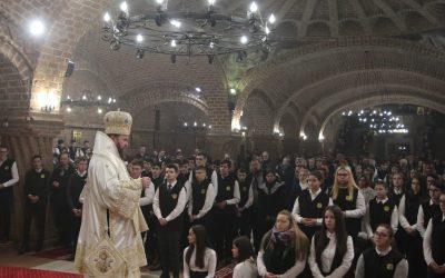 """Hramul şcolilor teologice, la Catedrala Episcopală """"Sfânta Treime"""" din Baia Mare"""