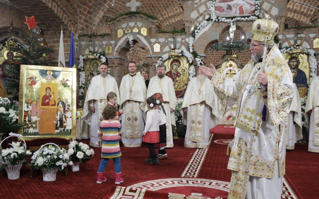 Sfânta Liturghie din prima zi a Noului An, la Catedrala din Baia-Mare