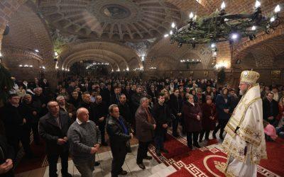 Duminica dinaintea Botezului Domnului, la Catedrala Episcopală din Baia Mare