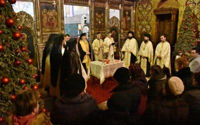 Mitropolitul Andrei, alături de clujeni, în noaptea dintre ani