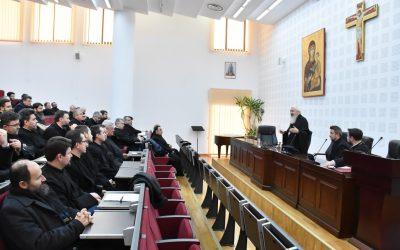 Părintele Mitropolit Andrei, prezent la prima ședință din anul 2020 a preoților clujeni