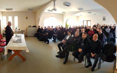 Prima întrunire din acest an a preoților din Protopopiatul Năsăud, la Sîngeorz-Băi