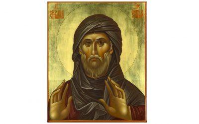 Sfântul Efrem Sirul (306-379), teolog și imnolog