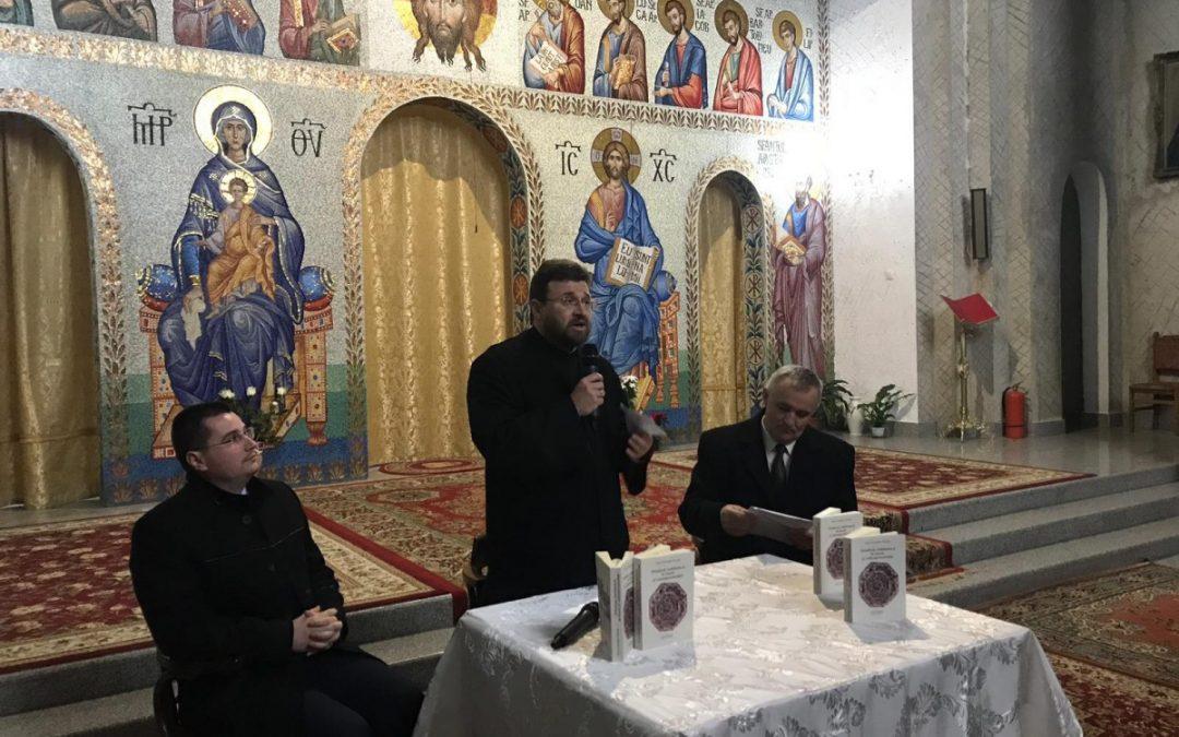"""Volumul """"Ortodoxia româneascã în istorie și contemporaneitate"""", prezentat în Parohia """"Sfinții Apotoli Petru și Pavel"""" din Cluj"""