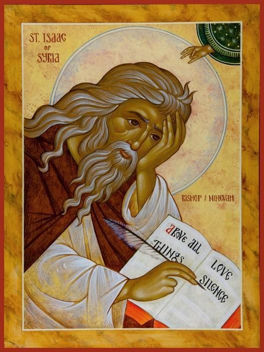 Sf. Isaac Sirul (foto Doxologia.ro)