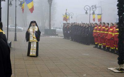 70 ani de la înființarea Detașamentului de Pompieri Huedin, marcați prin rugăciune