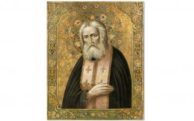 Cine este Sfântul Serafim de Sarov?