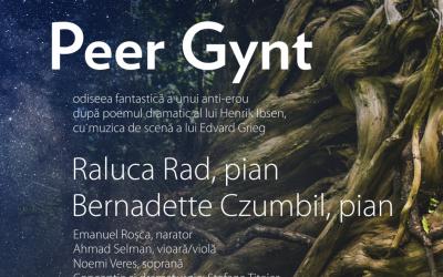 Concert cu narațiune: Peer Gynt – odiseea fantastică a unui anti-erou