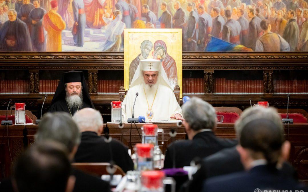 Ședința anuală a Consiliului Național Bisericesc | 153.600.638 lei cheltuiţi în scop social-filantropic