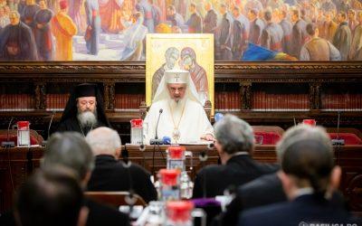 Ședința anuală a Consiliului Național Bisericesc   153.600.638 lei cheltuiţi în scop social-filantropic