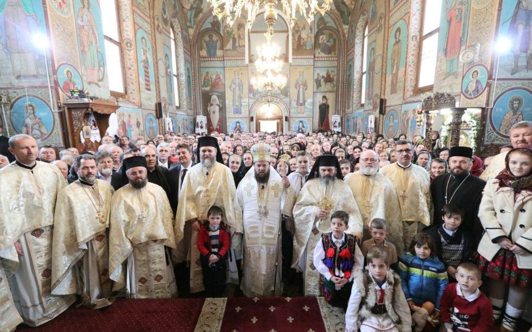 Mănăstirea maramureșeană Moisei și-a sărbătorit hramul de iarnă