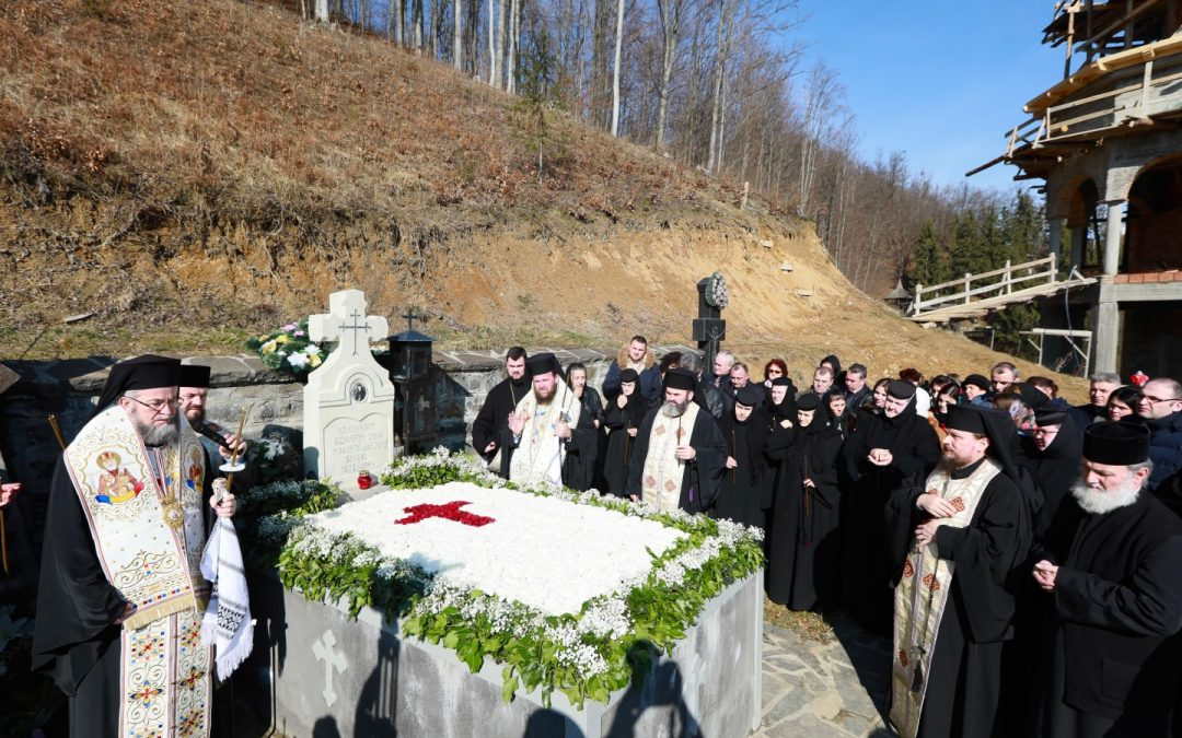 Arhimandritul Serafim Man, pomenit la şapte ani de la trecerea la cele veșnice