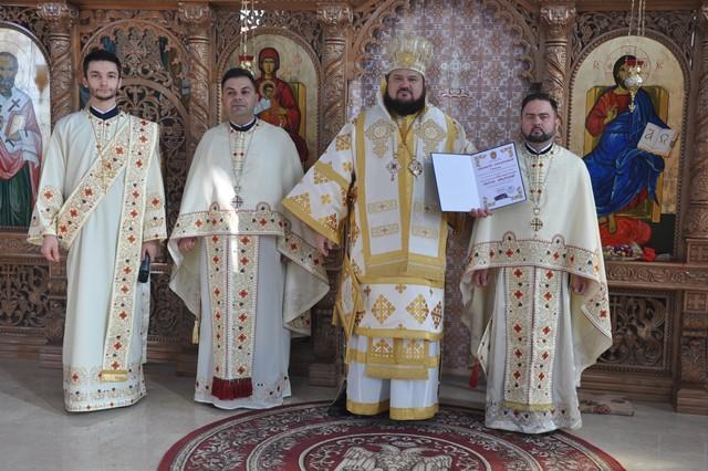 Liturghie Arhierească în Parohia Recea, din Episcopia Sălajului