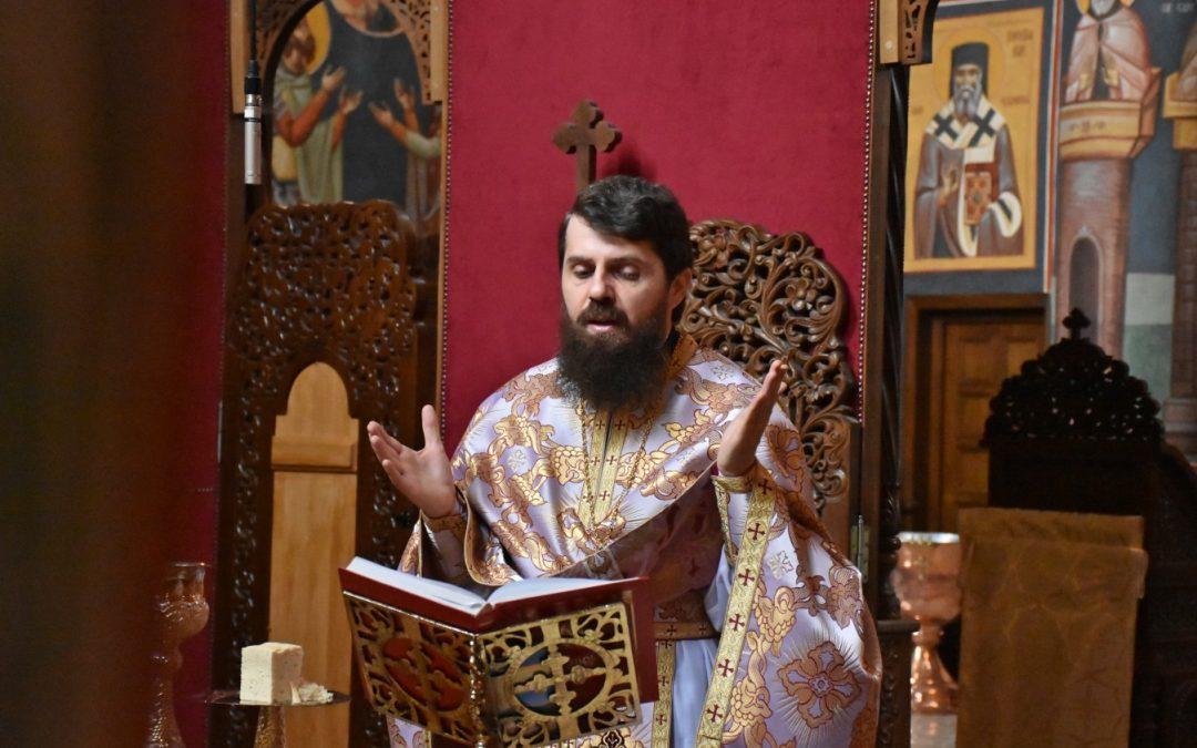 Ajunul hirotoniei întru arhiereu, petrecut în rugăciune de Episcopul-vicar ales Benedict Vesa