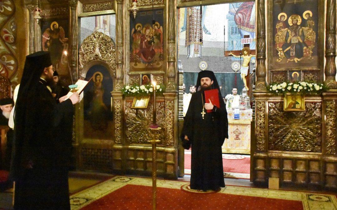 Slujba de ipopsifiere a Episcopului-vicar ales al Arhiepiscopiei Clujului