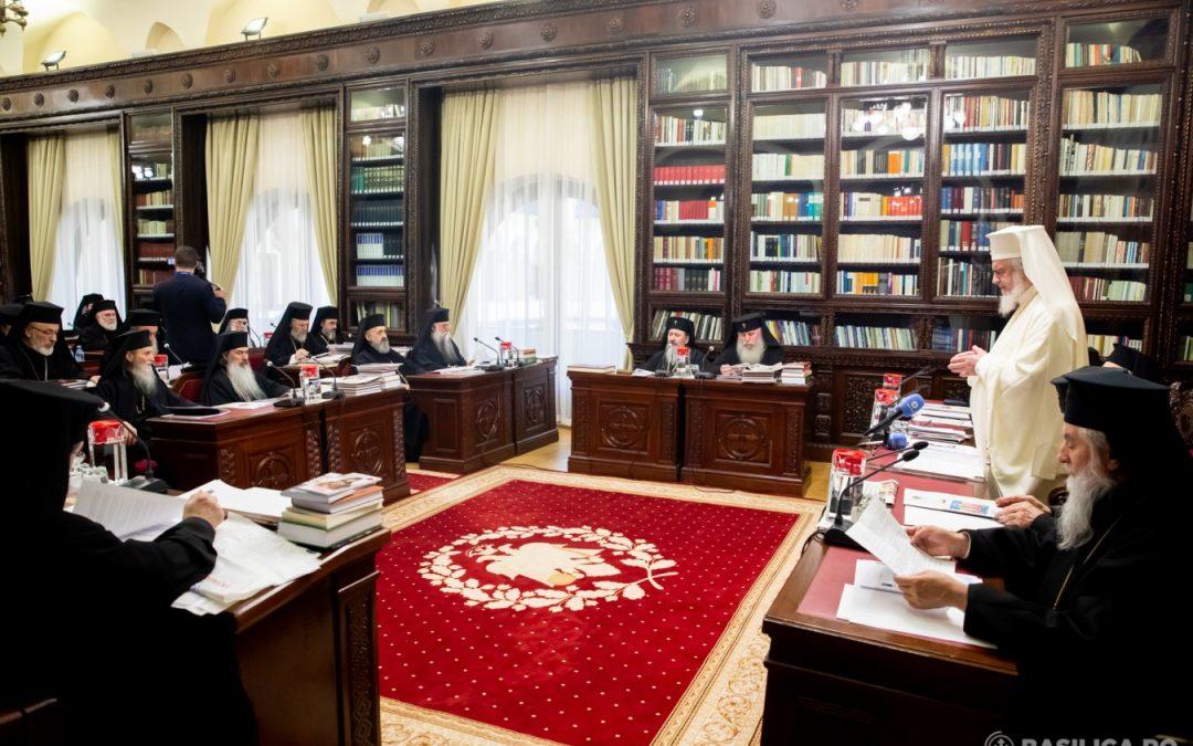 Sfântul Sinod s-a întrunit la Patriarhie. În cadrul şedinţei va fi ales noul Episcop-vicar al Arhiepiscopiei Clujului