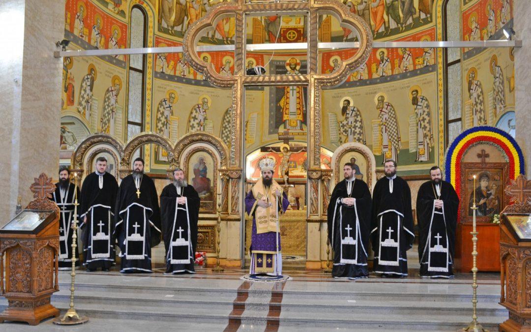 PS Benedict Bistrițeanul a oficiat Liturghia Darurilor la mănăstirea sa de metanie