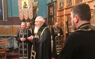 Mitropolitul Andrei a oficiat prima parte a Canonului cel Mare în Parohia Copăceni