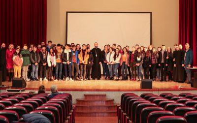 Despre întâlnire și iubire în era internetului. Conferință pentru tinerii din Huedin, susținută de Pr. Prof. Liviu Vidican-Manci