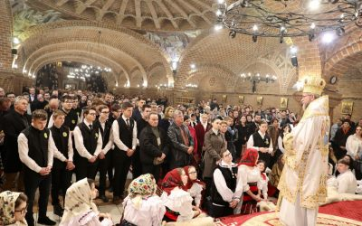 """Liturghie arhierească, la Catedrala Episcopală """"Sfânta Treime"""" din Baia Mare"""