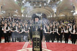 """FOTO   Canonul cel Mare la Catedrala Episcopală """"Sfânta Treime"""" din Baia Mare"""