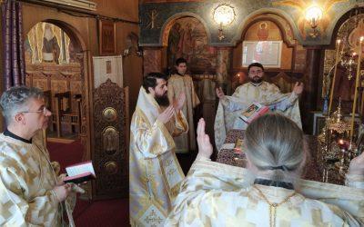Praznicul Bunei Vestiri, la Capela Seminarului Teologic Ortodox din Cluj-Napoca