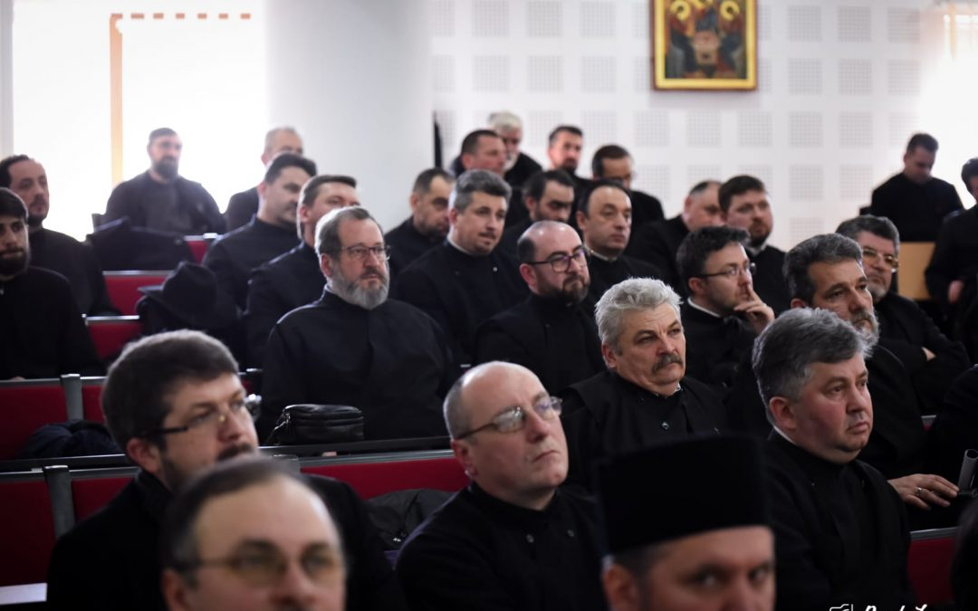 Intensificarea activităților catehetice în Cluj-Napoca, discutată în ședința de protopopiat