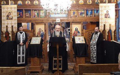 Părintele Mitropolit Andrei, la Canonul cel Mare în Biserica din Băbuțiu