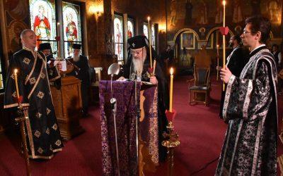 Denia Canonului cel Mare, la Capela Seminarului Teologic Ortodox din Cluj-Napoca