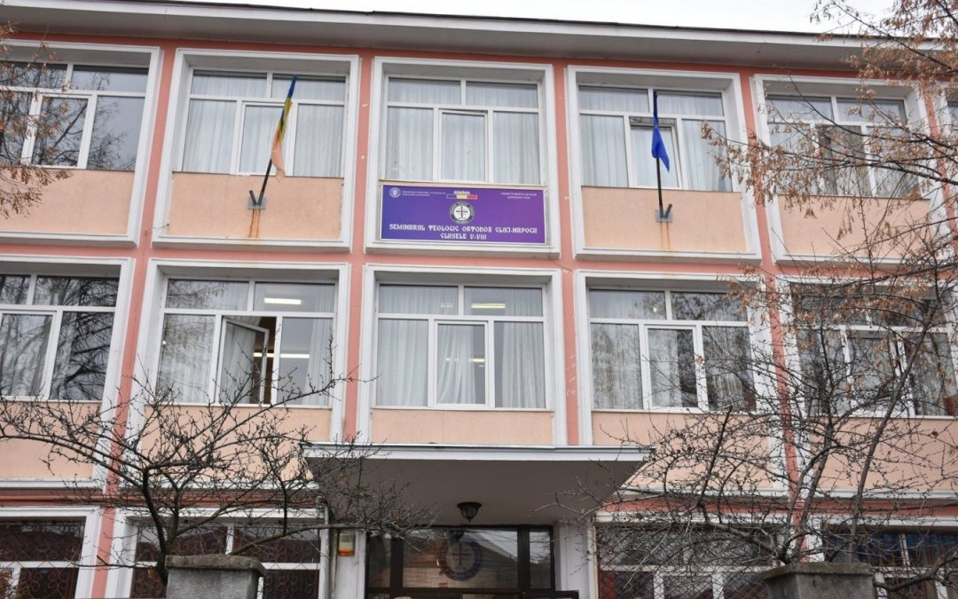 Clădirea gimnaziului Seminarului Teologic Ortodox din Cluj-Napoca, modernizată cu bani europeni
