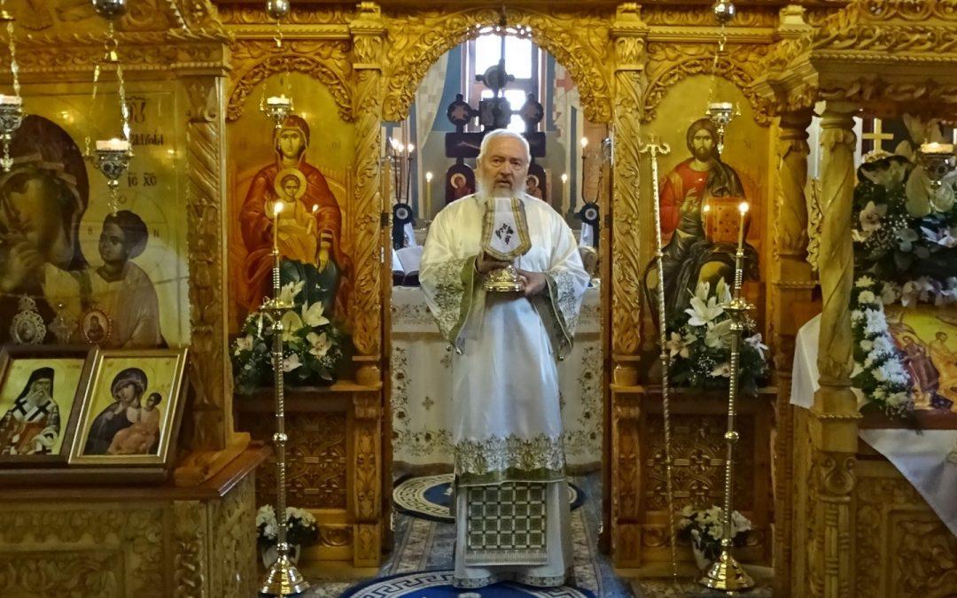 """Mitropolitul Andrei: """"Purtător de biruință prin Hristos Cel înviat din morți"""" – Predică la sărbătoarea Sf. M. Mc. Gheorghe   23 aprilie 2020"""