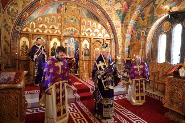 Sfânta Liturghie din Joia Mare în Episcopia Maramureșului