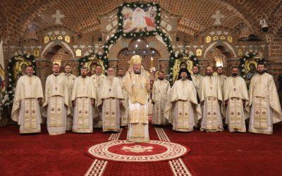 """Preasfințitul Părinte Iustin: """"Să nu uităm niciodată ce s-a petrecut în anul 2020. Că am fost despărțiți unii de alții."""""""