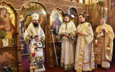 Episcopul-vicar Benedict Bistrițeanul a hirotonit un diacon pe seama Centrului Eparhial