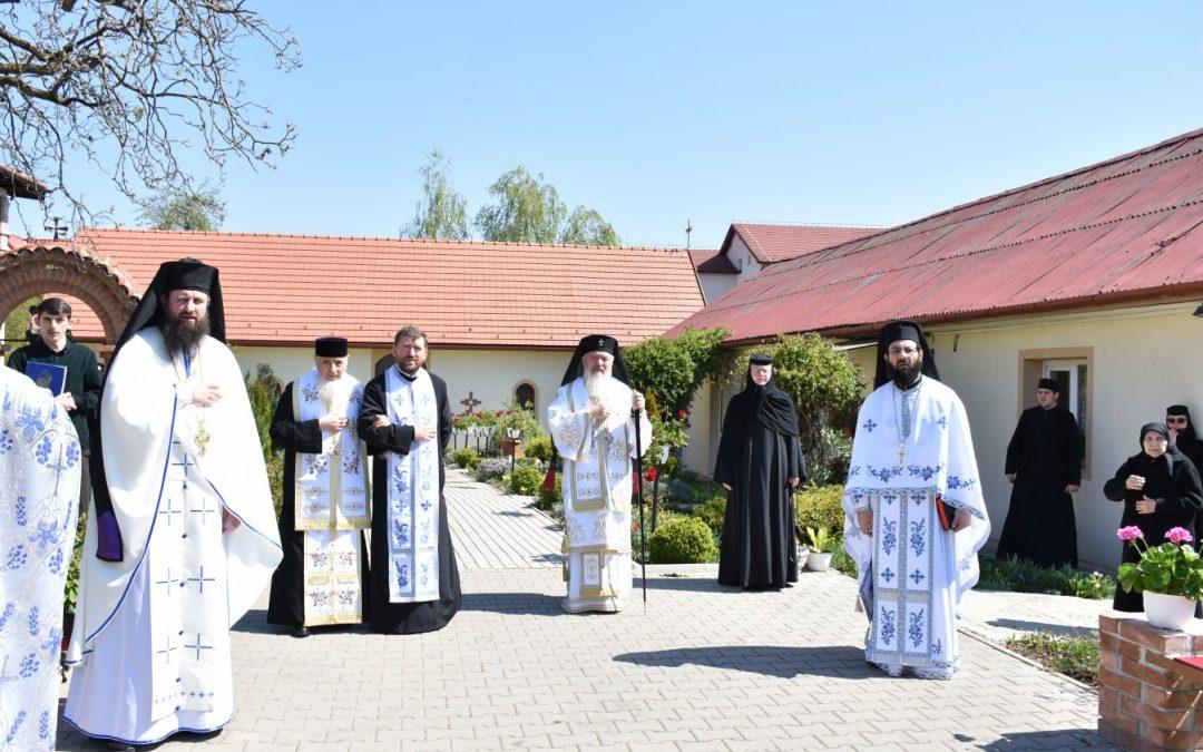 """Icoana Maicii Domnului de la Nicula, la hramul Mănăstirii """"Sfânta Elisabeta"""" din Cluj-Napoca"""