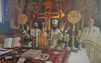 """PS Benedict Bistrițeanul, în Parohia """"Adormirea Maicii Domnului"""" din cartierul clujean Mănăștur"""