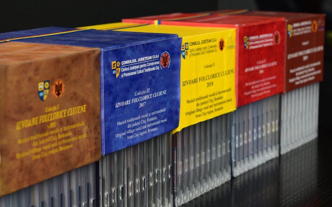Colecție de folclor muzical reprezentativ pentru judeţul Cluj, disponibilă gratuit