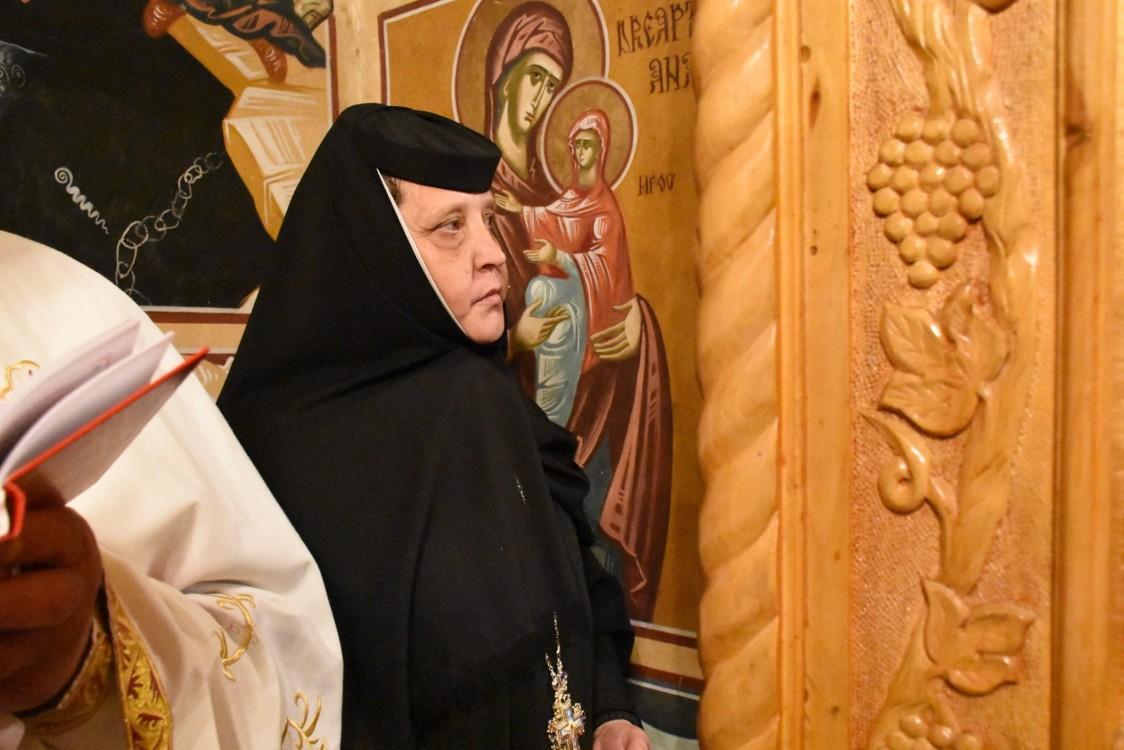 Stavr. Veronica Coțofană, Stareța Mănăstirii Dobric