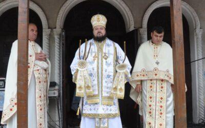 Liturghie arhierească, în parohia sălăjeană Ciumărna