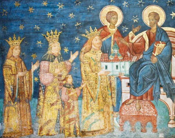 Portret votiv - Mănăstirea Voroneț