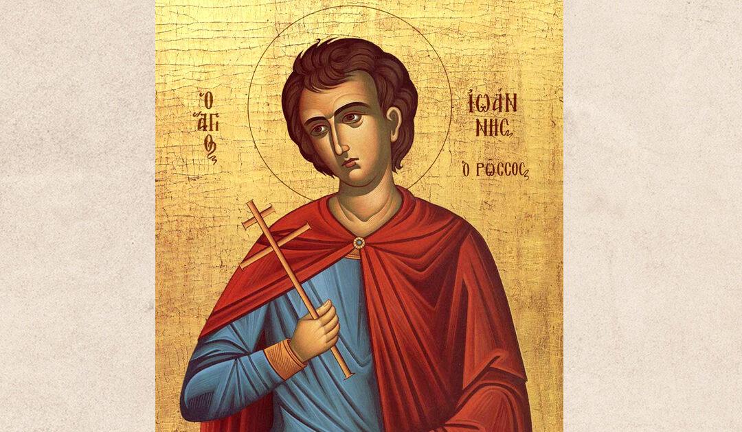 Sfântul Ioan Rusul – Mărturisitor, Tămăduitor și ocrotitor al credinței tinerilor